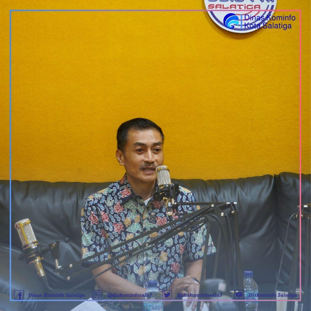 Talkshow Bersama Walikota Salatiga Yuliyanto, SE., MM.